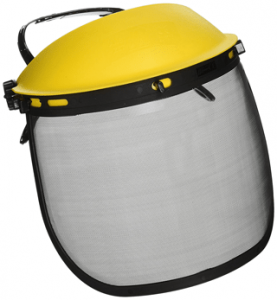 Zenport safety helmet for chainsaw