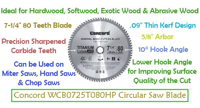 Best circular saw blade for hardwood
