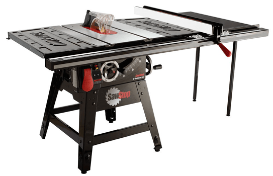 SawStop table saw review