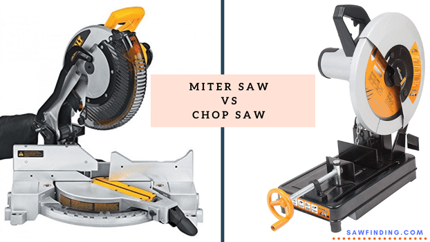 Miter saw Vs Chop saw - what are the differences